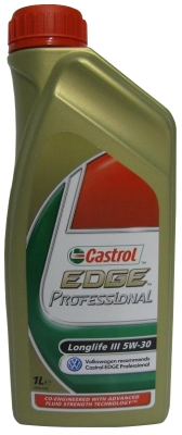 castrol edge professional 5w 30 longlife 3 motor l 1l vw. Black Bedroom Furniture Sets. Home Design Ideas
