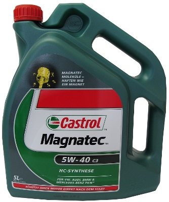 castrol magnatec 5w 40 c3 motor l 5 liter vw mb api sm cf ebay. Black Bedroom Furniture Sets. Home Design Ideas