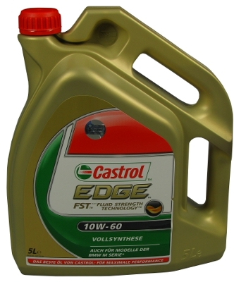 castrol edge fst 10w 60 motor l 5 liter motorsport a3 b4. Black Bedroom Furniture Sets. Home Design Ideas