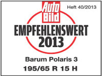 Winterreifen Barum Polaris 3 195/65R15 H