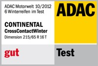 Winterreifen Continental ContiCrossContact Winter 215/65R16 T