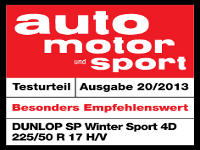 Winterreifen Dunlop SP WINTER SPORT 4D 225/50R17 V