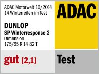 Winterreifen Dunlop SP Winter Response 2 175/65R14 T