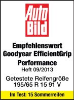 Sommerreifen Goodyear Efficient Grip Performance 195/65R15 V