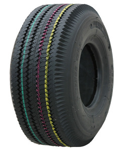 Kings Tire KT603 Set 4.10 -5 4PR Double marquage 4.10/3.50-5, SET - Pneu avec chambre à air BSW