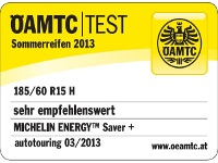 Sommerreifen Michelin ENERGY SAVER + 185/60R15 H