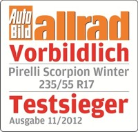 Pirelli Scorpion Winter 235/55 R17 103V XL , ECOIMPACT BSW BSW