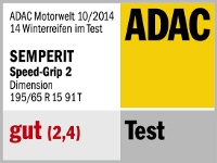 Winterreifen Semperit SPEED-GRIP 2 195/65R15 T