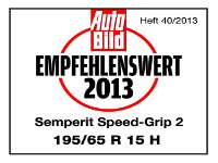 Winterreifen Semperit SPEED-GRIP 2 195/65R15 H